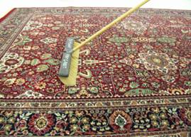 Finishing of Rugs